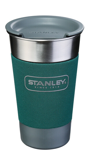Stanley Adventure Pint Drinkfles 473ml groen/zilver